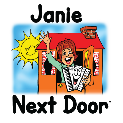 Janie Next Door with Jane Christison | MusicWithASmile.com