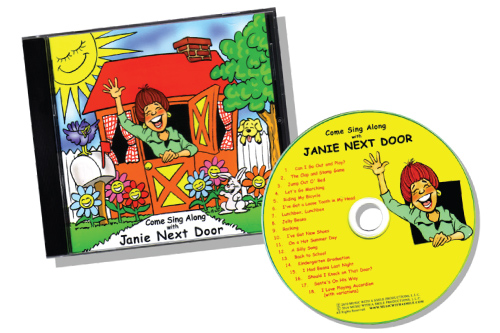 Come Sing Along With Janie Next Door CD & Digital Download | MusicWithASmile.com